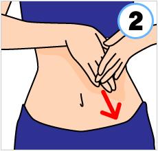 不要な便をスムーズに排出できる「腸マッサージ」のやり方-04