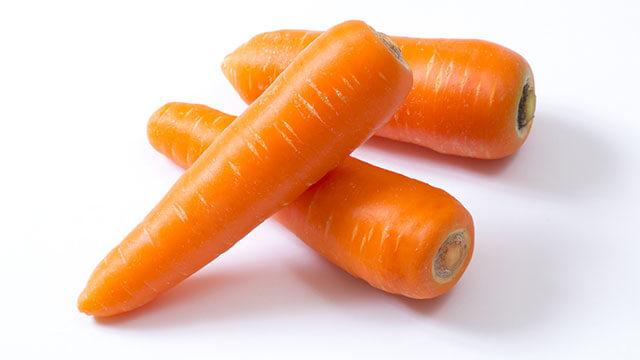 βカロテンの含有量はトップクラスの野菜「にんじん」