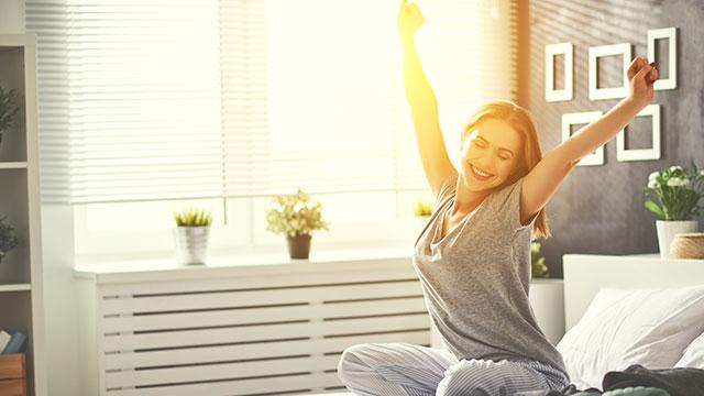 快適な睡眠をとるために!部屋の明るさが睡眠に与える影響
