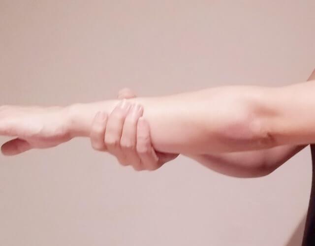 二の腕を痩せるために!簡単にできる二の腕マッサージ!-10