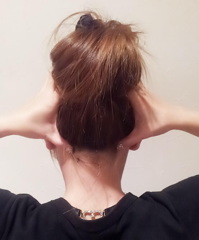 首が痩せるダイエット方法【首のマッサージ】③-03