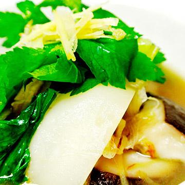 生姜と鶏肉のスープ[材料]