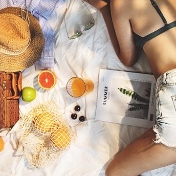 夏の紫外線を防いで美肌になる!サプリメントでできる紫外線対策!