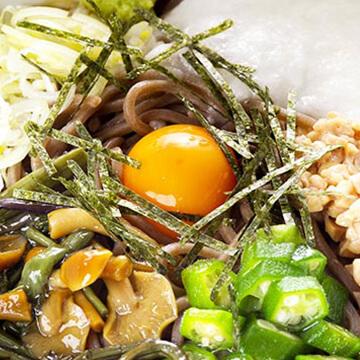 とろろ・納豆などのネバネバ効果がダイエットに効果的?