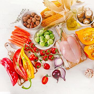 6大栄養素のうち糖質・脂質・タンパク質・食物繊維を詳しく学ぼう!