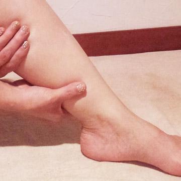 美脚になれる簡単リンパマッサージ