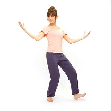 フィットネスタイチー「琵琶」「独歩」で美しく痩せる!