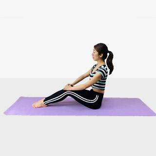 お腹を引き締めるV字バランス♪♪ぽっこりお腹や姿勢を改善出来るトレーニング