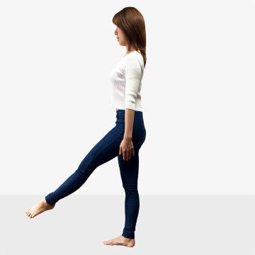 女性らしさ惹き立てる!華奢に見える筋肉の鍛え方③脚