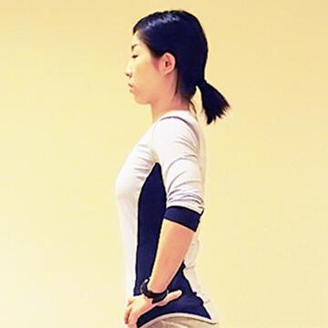 普段から心がけよう痩せる立ち方!代謝アップの立ち姿勢②