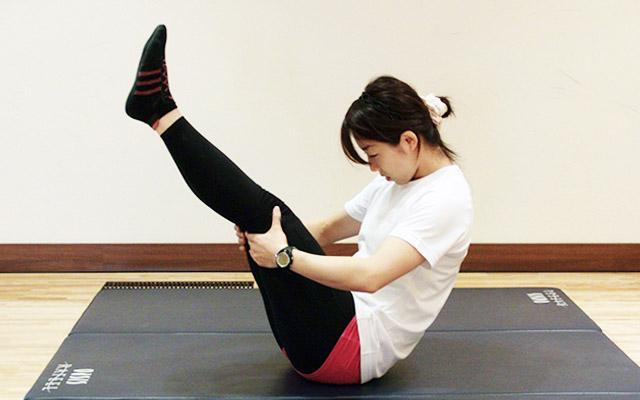お腹周りのエクササイズ「卵型~お腹のトレーニング~」-03
