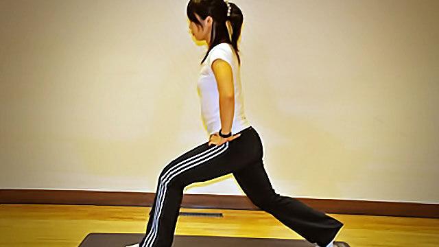 2週間でできる短期間美脚トレーニング「ランジ」