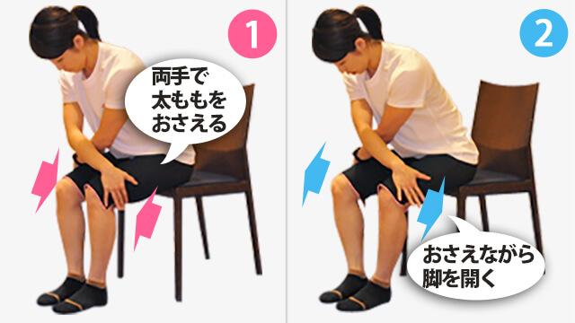 椅子を使って背中を鍛える「シーテッドバックエクステンション」-01
