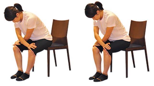 椅子を使って簡単にできる内ももの引き締めエクササイズ