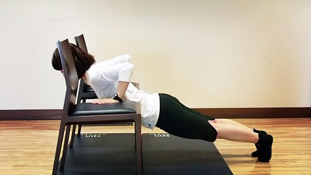 胸の形を整えよう!「胸を下から支える筋肉を付けるエクササイズ」