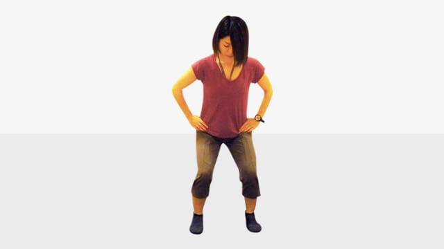 """毎日5分でできる下半身痩せ・美脚エクササイズ""""カニ歩き"""""""