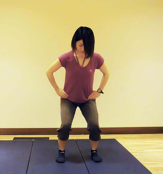 """毎日5分でできる下半身痩せ・美脚エクササイズ""""カニ歩き""""-01"""