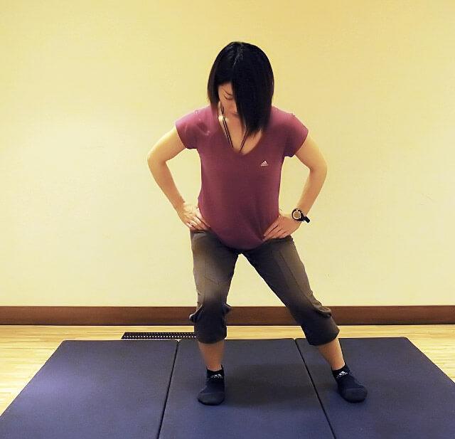 """毎日5分でできる下半身痩せ・美脚エクササイズ""""カニ歩き""""-02"""