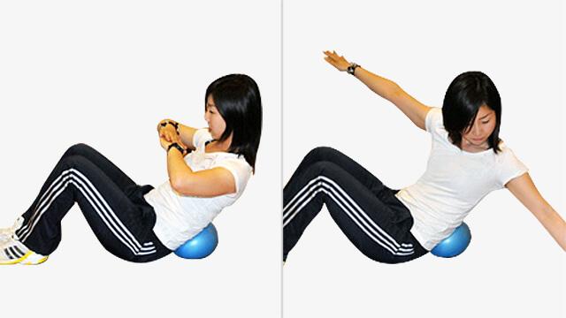 おうちで座ってできる脇腹や腰まわりをすっきりさせるエクササイズ