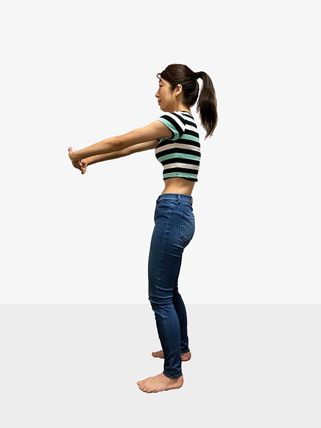 毎日続けられる「背中ゆるめるエクササイズ」姿勢美人を目指そう♡_04