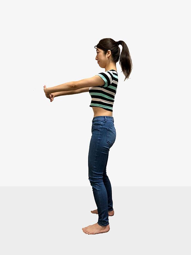 毎日続けられる「背中ゆるめるエクササイズ」姿勢美人を目指そう♡_05
