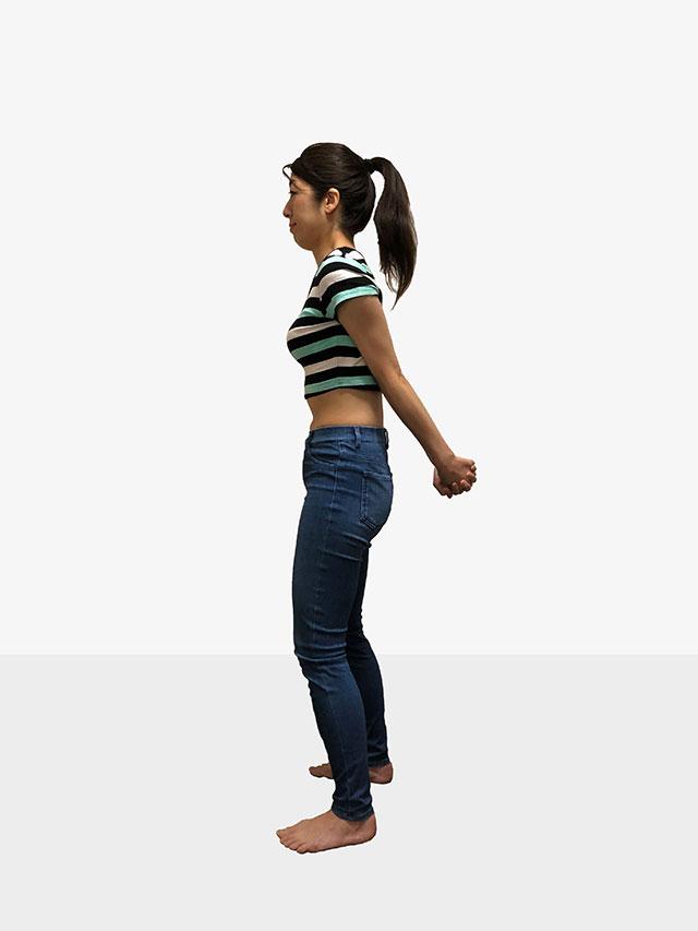 毎日続けられる「背中ゆるめるエクササイズ」姿勢美人を目指そう♡_07