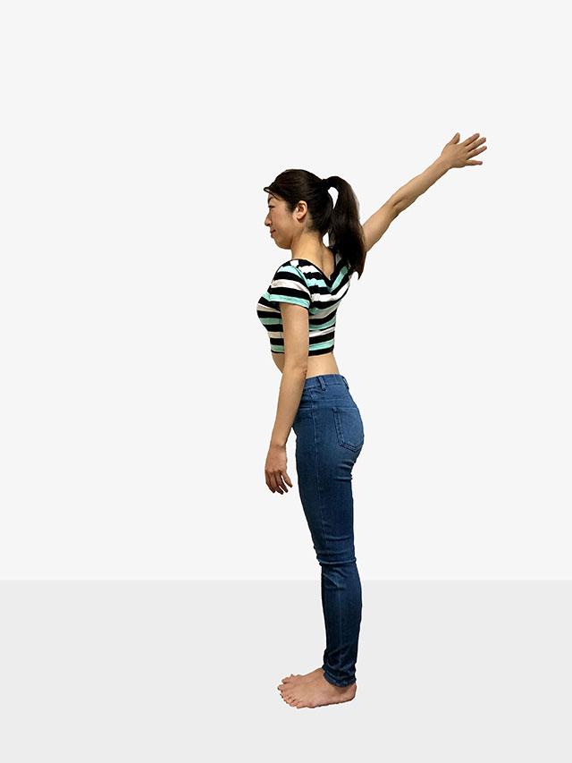 毎日続けられる「壁を使ったエクササイズ」姿勢美人を目指そう♡_06