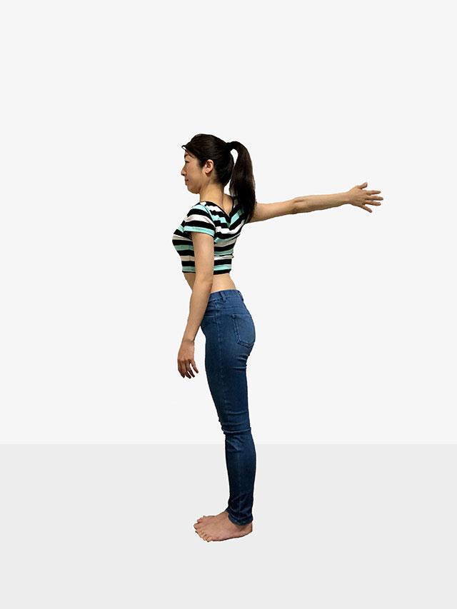 毎日続けられる「壁を使ったエクササイズ」姿勢美人を目指そう♡_07