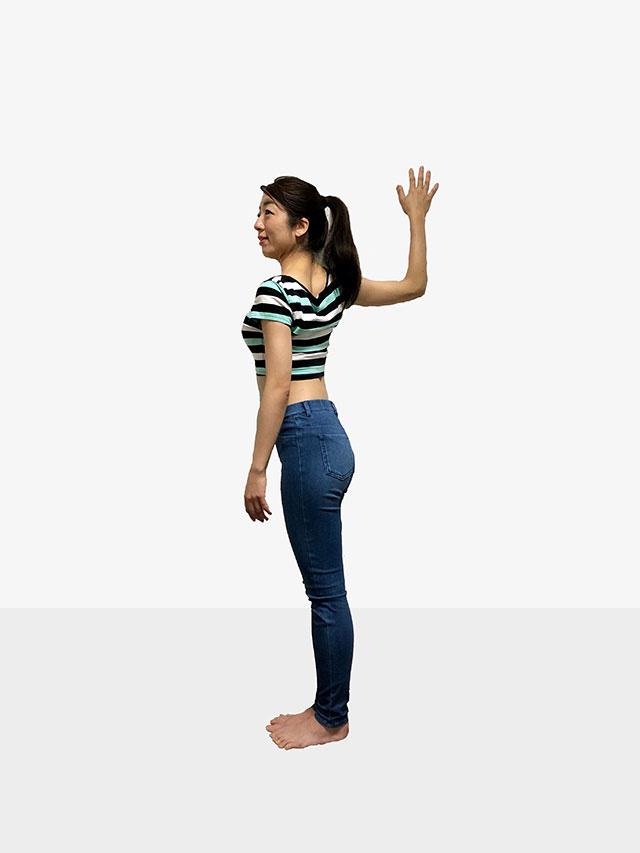 毎日続けられる「壁を使ったエクササイズ」姿勢美人を目指そう♡_08