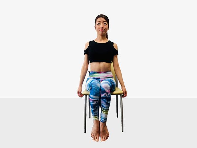 テレワークで運動不足の人にお勧めしたい「側筋しぼり&腹筋②」_01