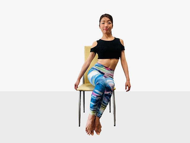 テレワークで運動不足の人にお勧めしたい「側筋しぼり&腹筋②」_04