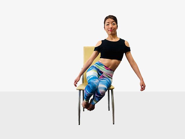 テレワークで運動不足の人にお勧めしたい「側筋しぼり&腹筋②」_07