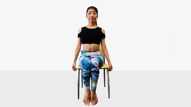 テレワークで運動不足の人にお勧めしたい「側筋しぼり&腹筋②」