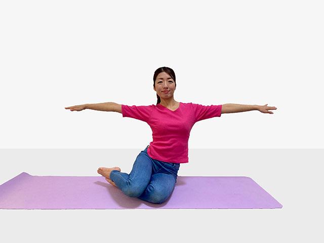 おうちでも手軽にできる♪体幹に効かせられる「お姉さん座りをエクササイズ」_05