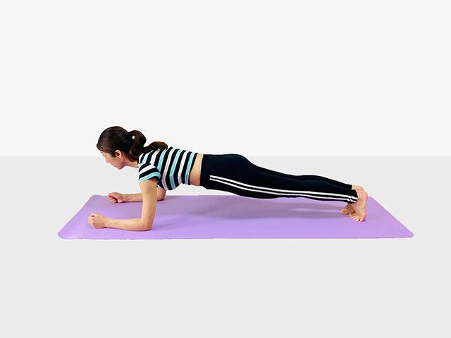 お腹を引き締めるプランク♪♪ぽっこりお腹や姿勢を改善出来るトレーニング_01