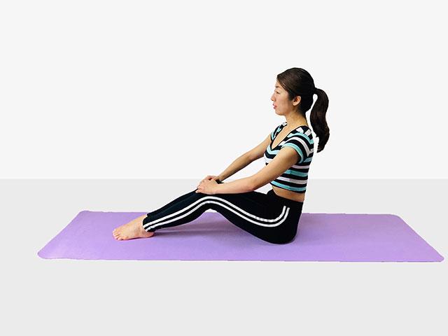 お腹を引き締めるV字バランス♪♪ぽっこりお腹や姿勢を改善出来るトレーニング_01