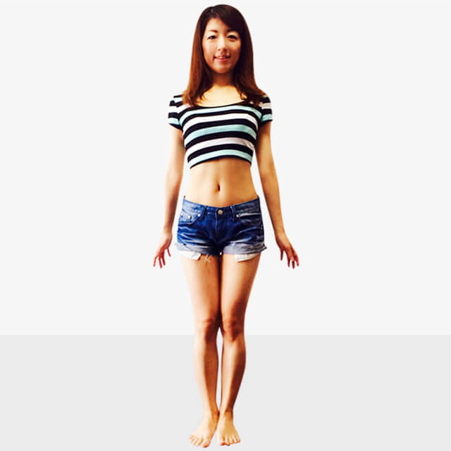 服で隠せない箇所の部分痩せ「むくんだ膝下スッキリエクササイズ」-01