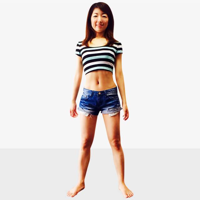 服で隠せない箇所の部分痩せ「むくんだ膝下スッキリエクササイズ」-02