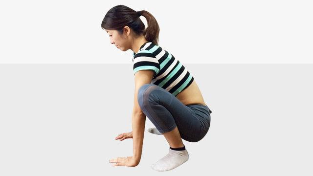 脚を長く見せるために鍛えるべき筋肉①脚裏エクササイズ