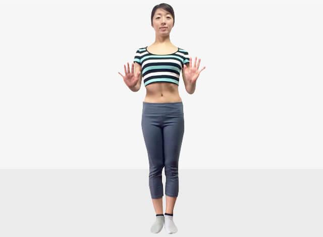脚を長く見せるために鍛えるべき筋肉③腹斜筋エクササイズ-01