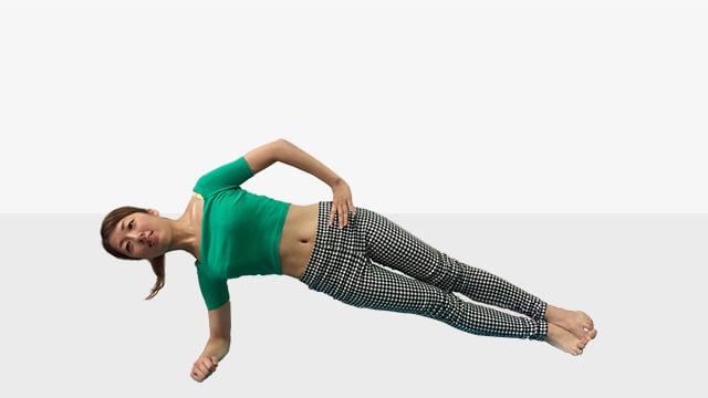 身体が軽くなる♪芯からキレイをつくる体幹トレーニング「中級編」-03