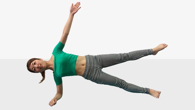 身体が軽くなる♪芯からキレイをつくる体幹トレーニング「中級編」-05