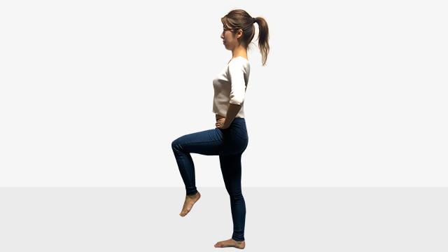 太くなった筋肉を細くしたい!室内でできる有酸素運動「もも上げ」