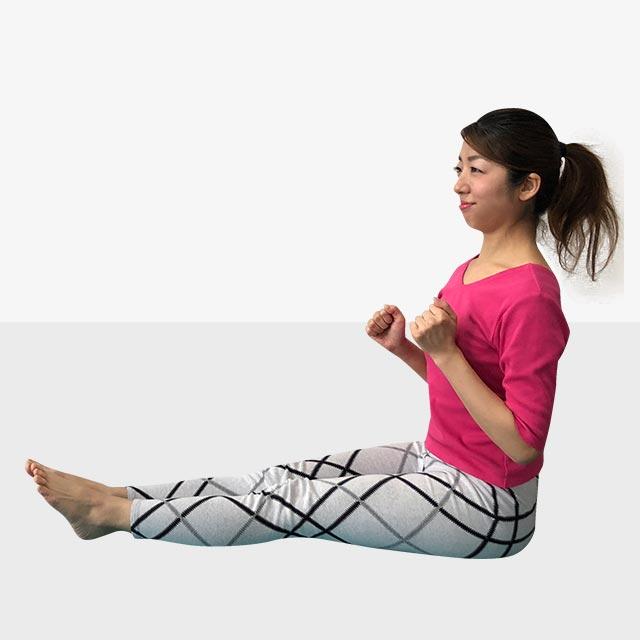 硬いお尻を柔らかくするトレーニング「お尻歩きエクササイズ」-01