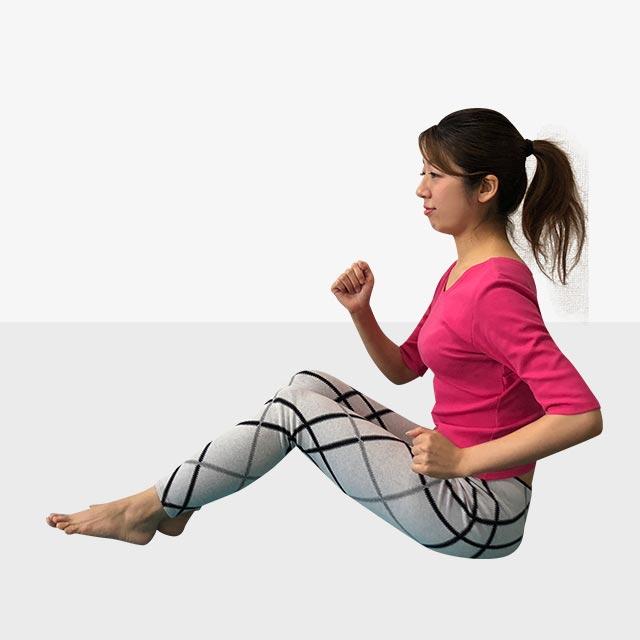 硬いお尻を柔らかくするトレーニング「お尻歩きエクササイズ」-05
