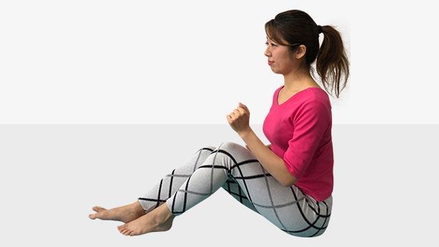 硬いお尻を柔らかくするトレーニング「お尻歩きエクササイズ」