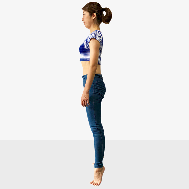 お腹ポッコリの原因と解決法「後ろ体重さんのための背筋ピーン」-03