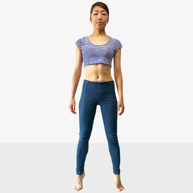 お腹ポッコリの原因と解決法「後ろ体重さんのための背筋ピーン」-04