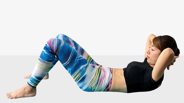 最強腹筋女王への道!腹筋運動で体全体を絞るエクササイズ-02