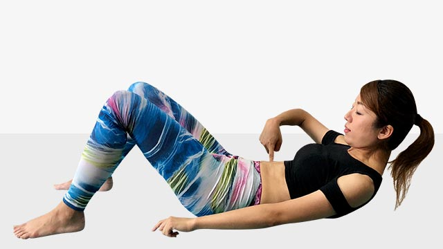 最強腹筋女王への道!腹筋運動で体全体を絞るエクササイズ-04